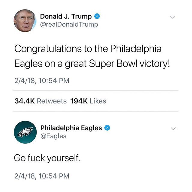 Philadelphia Eagles Memes - Donald Trump Memes