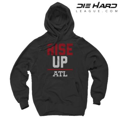 Atlanta Falcon Hoodies - Rise Up Black Hoodie