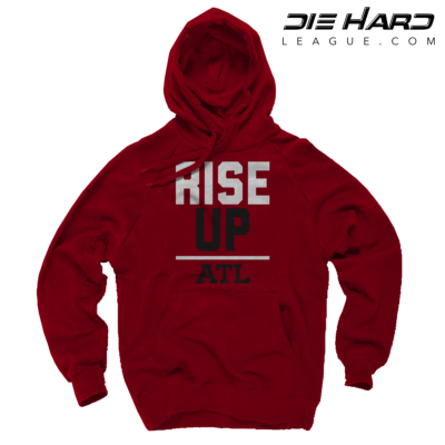 Falcons Hoodies - Atlanta Rise Up Red Hoodie