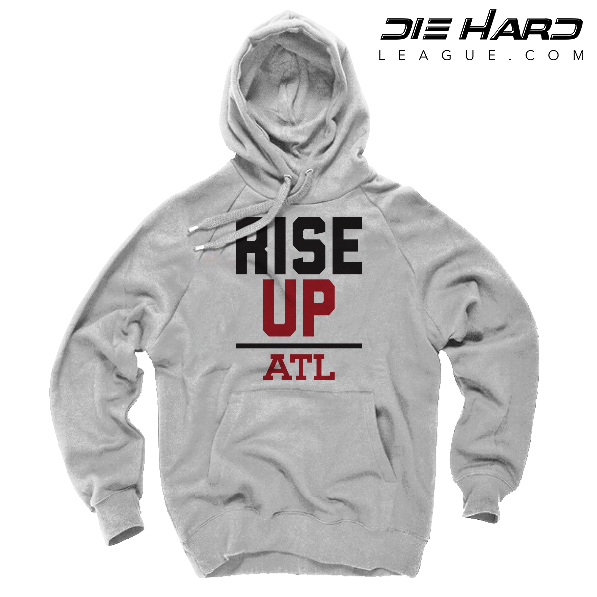 cheap for discount f9907 62882 Atlanta Falcons Sweater - Rise Up White Hoodie
