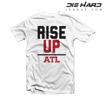 Falcon Shirts - Atlanta Rise Up White Tee