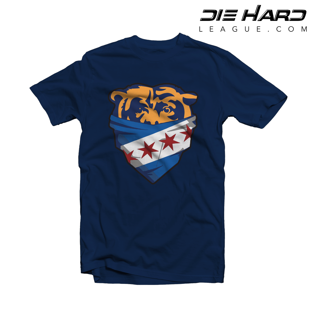 6e0c1f98 Bears Jersey - Chicago Bandanna Blue Tee [Best Selling]