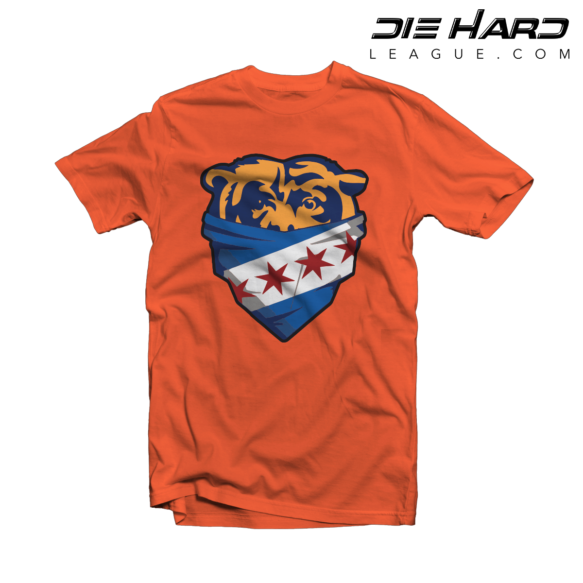 Chicago bears jersey bandana orange tee best selling for Selling t shirt designs