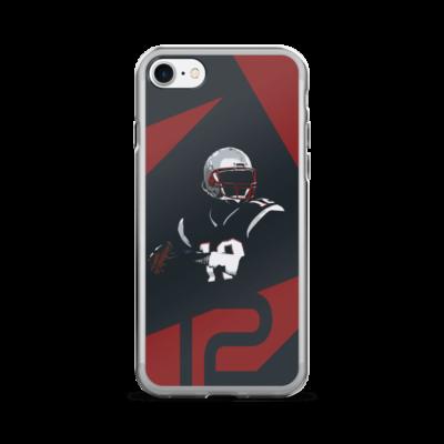 Patriots iPhone Case - New England Patriots Tom Brady iPhone 6 Case
