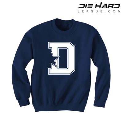Dallas Cowboy Sweatshirts - D Star Navy Sweatshirt