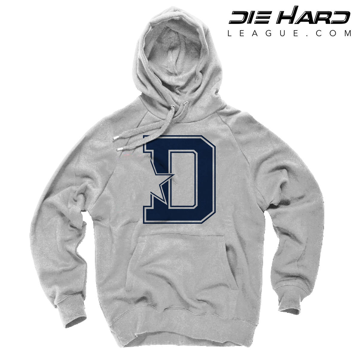 best sneakers f8539 92b4e Dallas Cowboys Hoodies For Men - Dallas Cowboys D Star White Hoodie