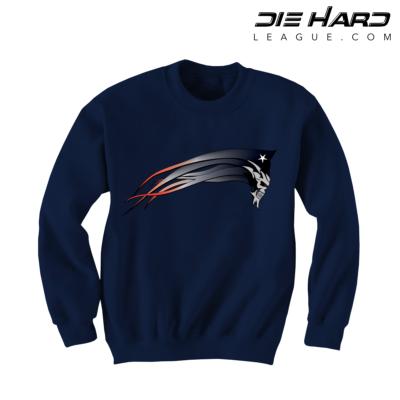 New England Patriots Sweatshirts - Patriots Dark Patriot Navy Sweater