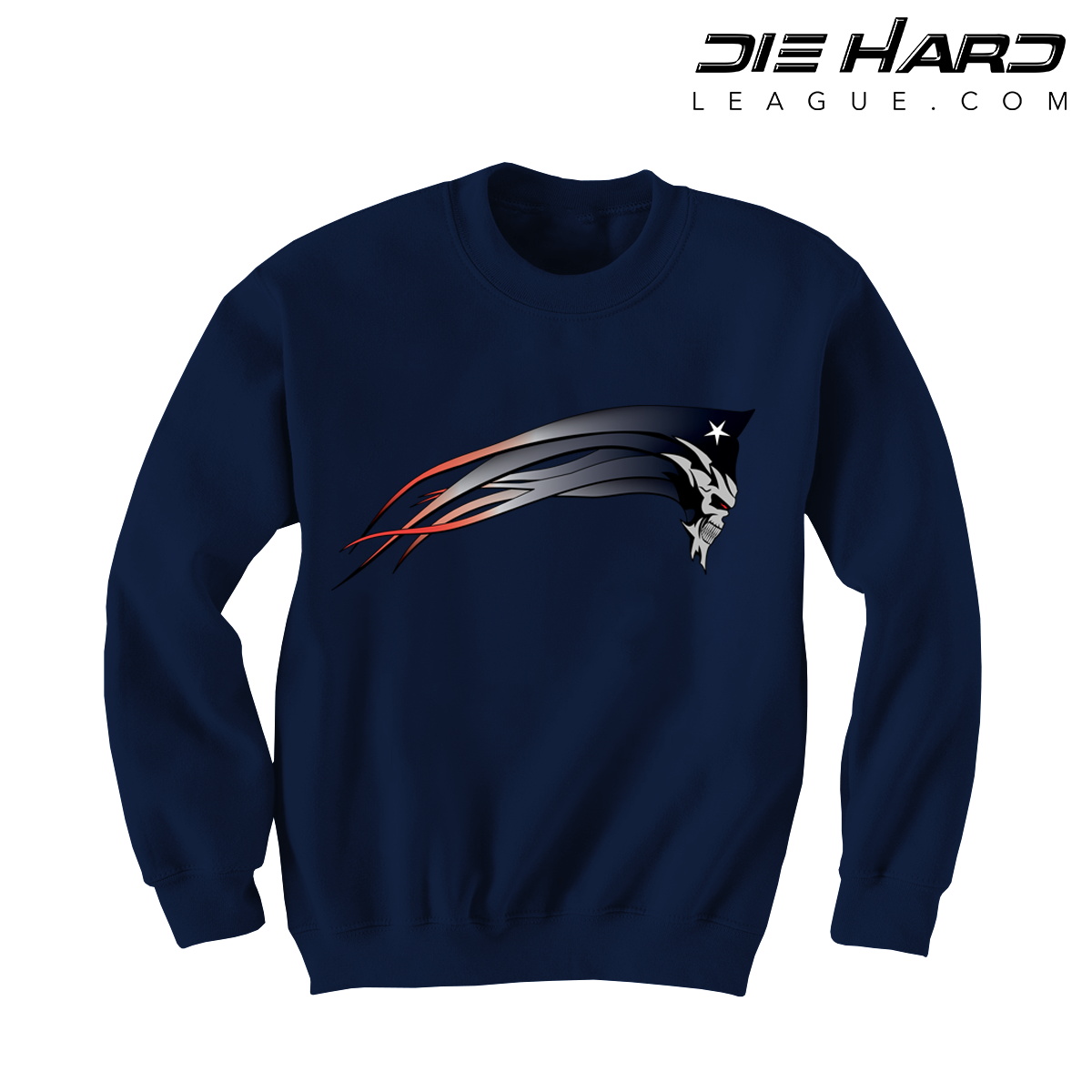 a2917a60 New England Patriots Sweatshirts - Patriots Dark Patriot Navy Sweater