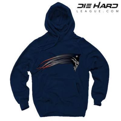 Patriots Hoodies - New England Dark Patriots Navy Hoodie
