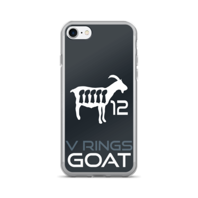 New England Patriots iPhone Case - Tom Brady GOAT iPhone 6 Case
