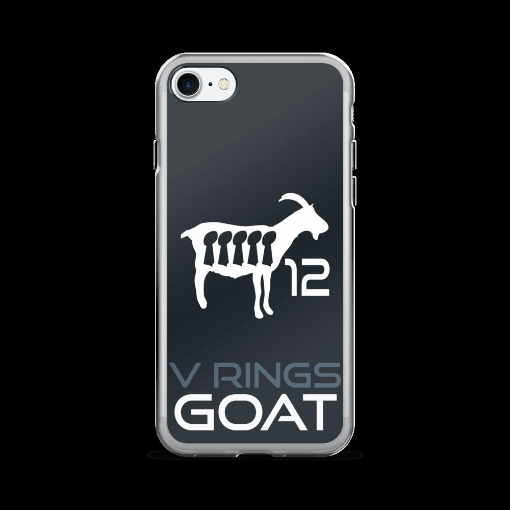 af2357d1c60 New England Patriots iPhone Case - Tom Brady GOAT iPhone 6 Case