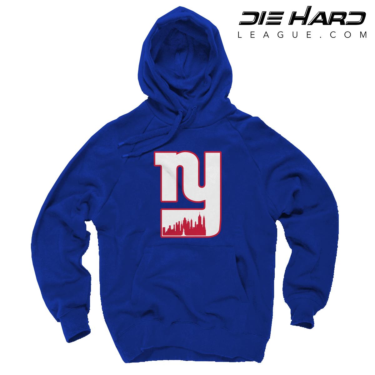 New York Giants Sweatshirt - NY Giants Alternate City Logo Sweatshirt 9402eb6c8