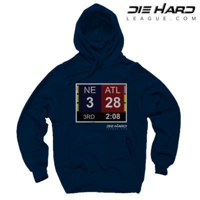 Mens Patriots Hoodie - Patriots Superbowl Navy Hoodie