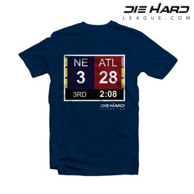Funny New England Patriots Shirts - New England Patriots Superbowl Navy Tee