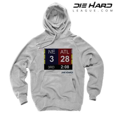 Patriots Hooded Sweatshirt - Patriots Superbowl White Sweatshirt