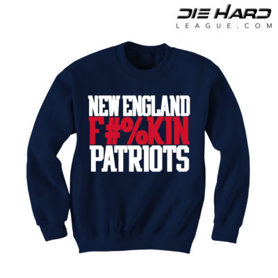 Patriots Sweatshirt - New England Patriots FN Navy Sweater