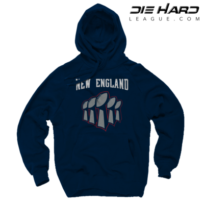 Patriots Super Bowl Gear - Patriots Superbowl Navy Hoodie