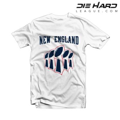 e100bdcc4c2184 New England Patriots Shirt - Patriots Superbowl White Tee