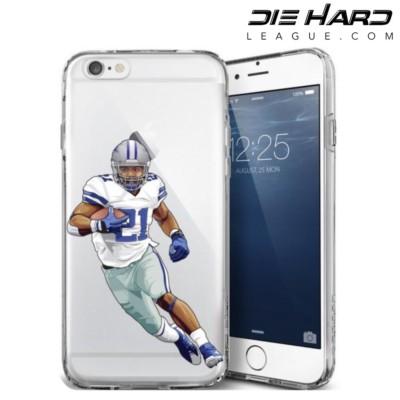 Dallas Cowboys iPhone Case - Ezekiel Elliott iPhone 6 Case
