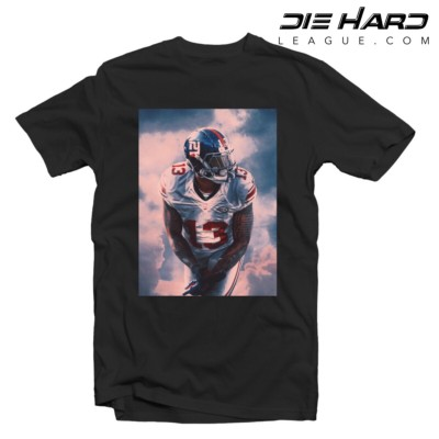 Odell Beckham Jr Wallpaper - NY Giants Shirt OBJ Black Tee