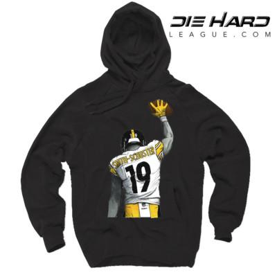 Juju Hoodie - Pittsburgh Steelers Hoodie Black