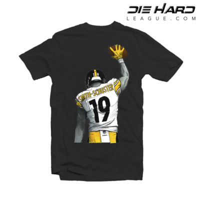 Pittsburgh Steelers Shirts - Juju Proud Black Tee