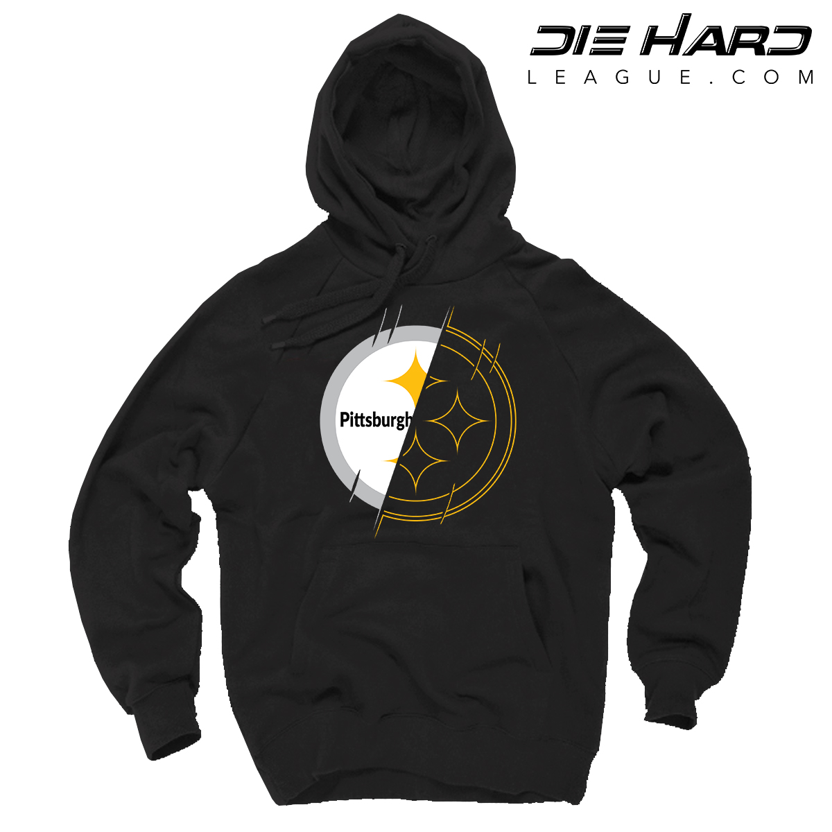 info for 42d3d 4332a Steelers Hoodie - Pittsburgh Hoodie 2 Tone Black